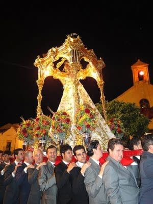 The virgin procession.