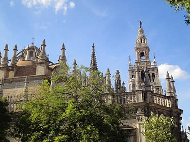 Seville Cathedral. Sevilla Cathedral.