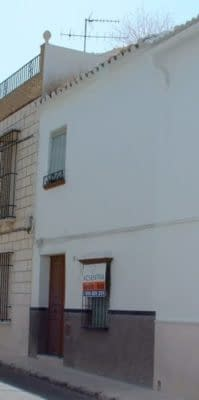 The Spanish town house property we bought in El Nacarino.