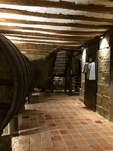 cellar at Bodega Del Tesoro.