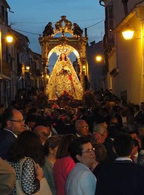 The virgin at El Nacarino.