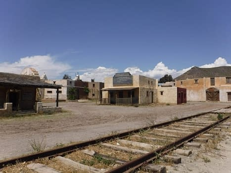 Santa fe railroad Fort Bravo.