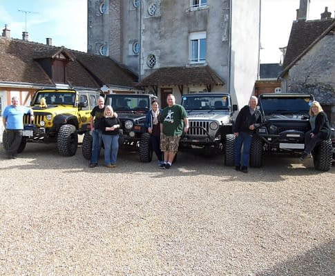 The Jeep Gang.