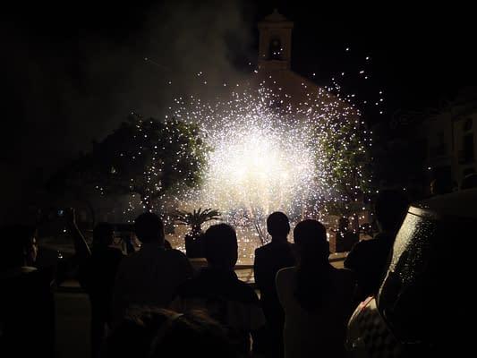 More fireworks in El Nacarino.