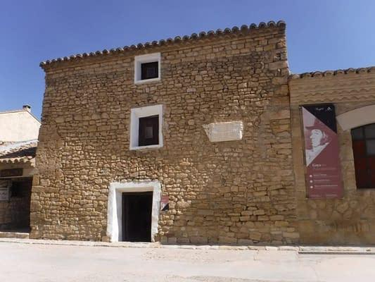 Goya birth place Fuendetodos.
