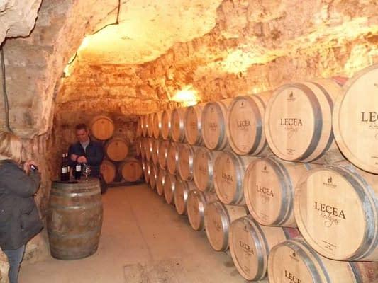 Lecea wine cellar.