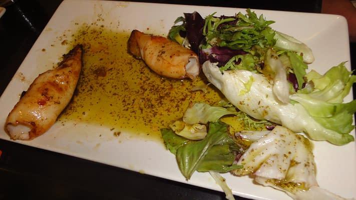 Tapas in Acerico half eaten!